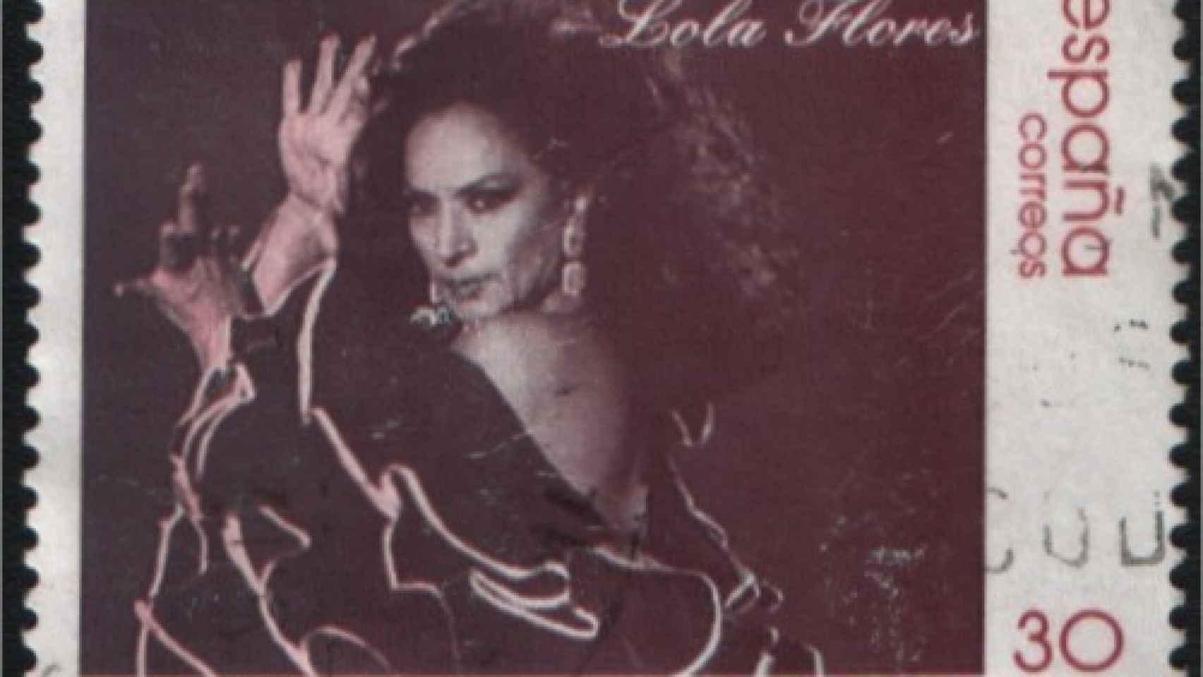 Sello homenaje a Lola Flores