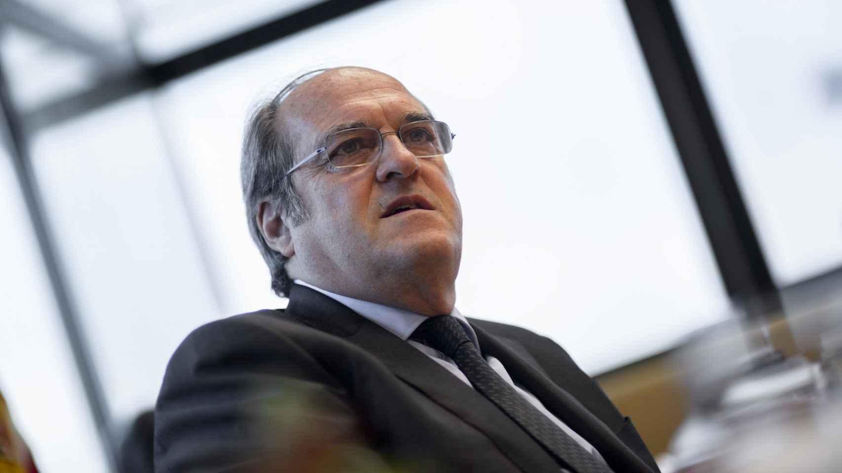 Ángel Gabilondo, en su despacho de la Asamblea de Madrid.
