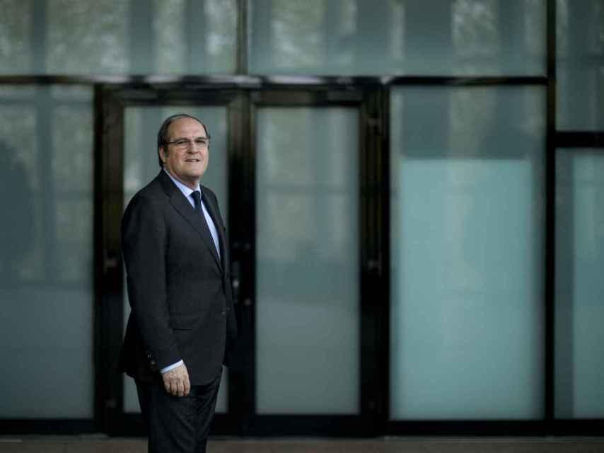 Ángel Gabilondo, en la Asamblea de Madrid