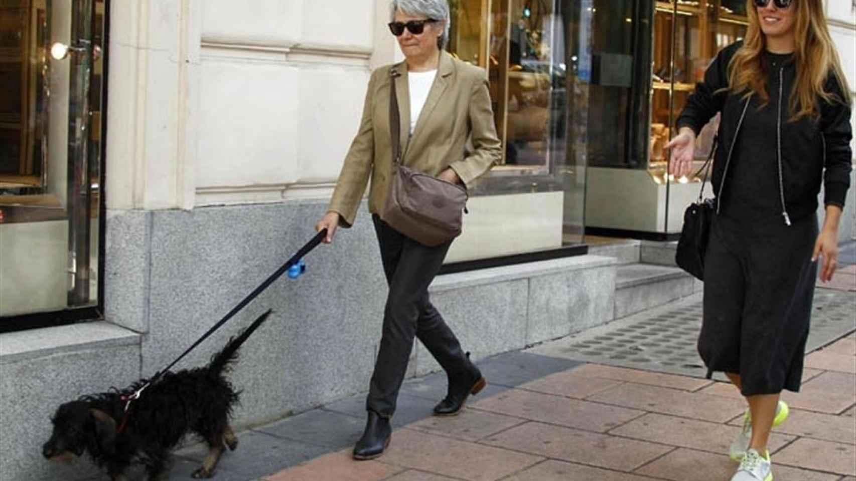 Blanca Suárez y su inseparable perro 'Pistacho'