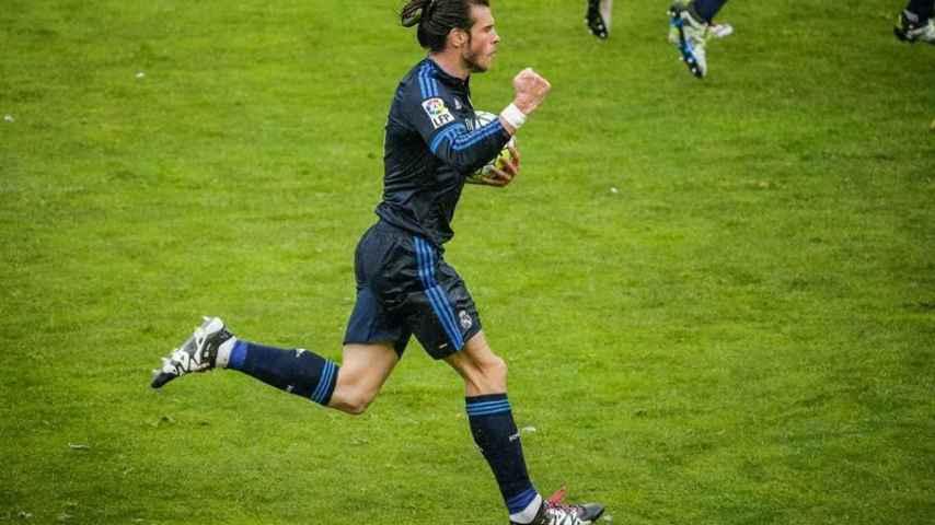 Cuando Bale hace de Cristiano
