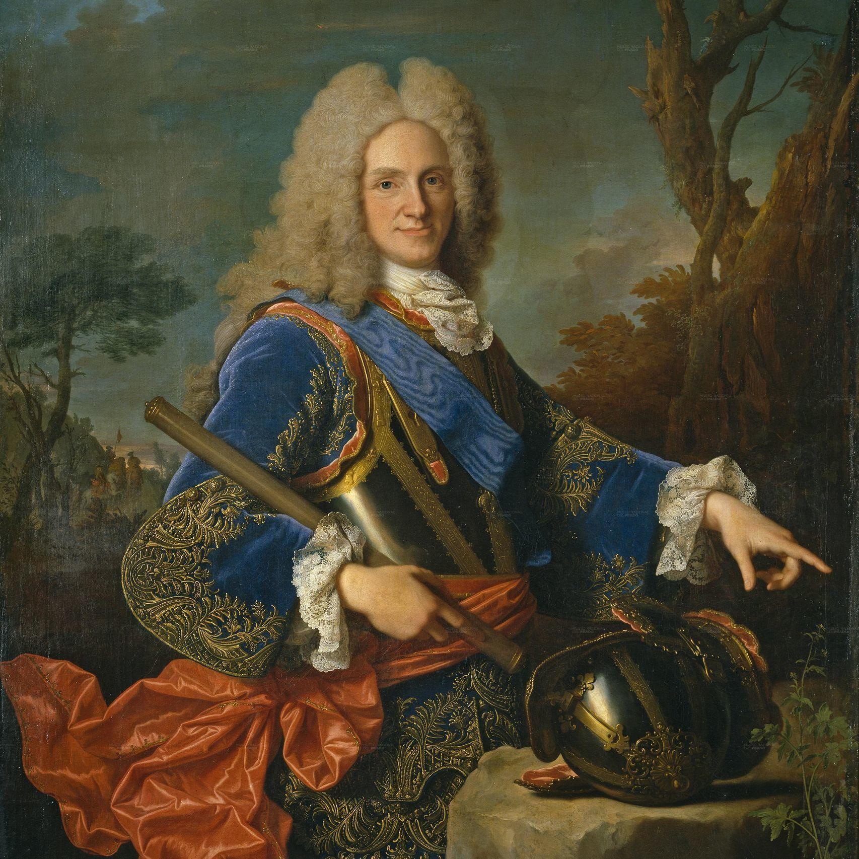 Felipe V en 1723. Cuadro de Jean Ranc. Museo del Prado.