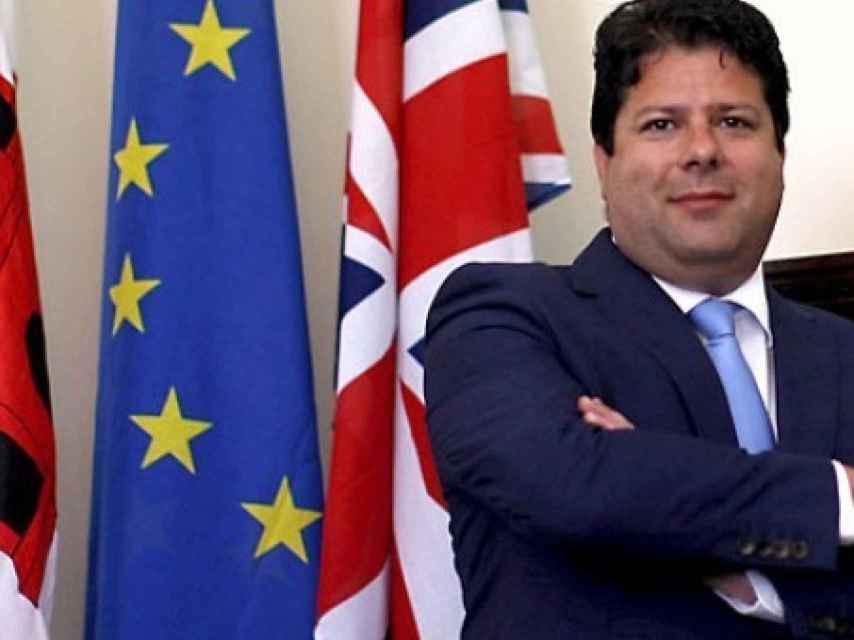 Ek ministro principal de Gibraltar, Fabian Picardo.
