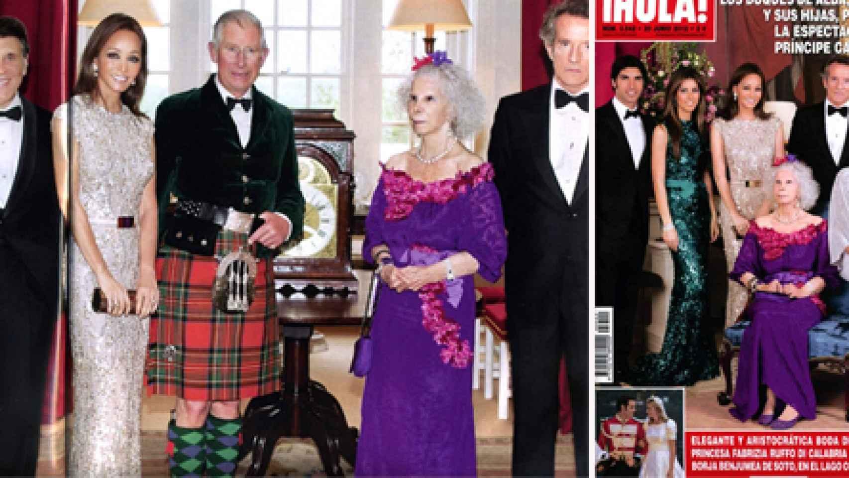 Preysler lleva muchos acudiendo a la cena de gala con el Príncipe Carlos de Inglaterra