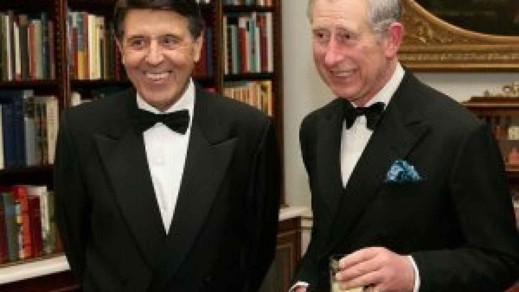 Manuel Colonques lleva 20 años colaborando con el Príncipe Carlos de Inglaterra