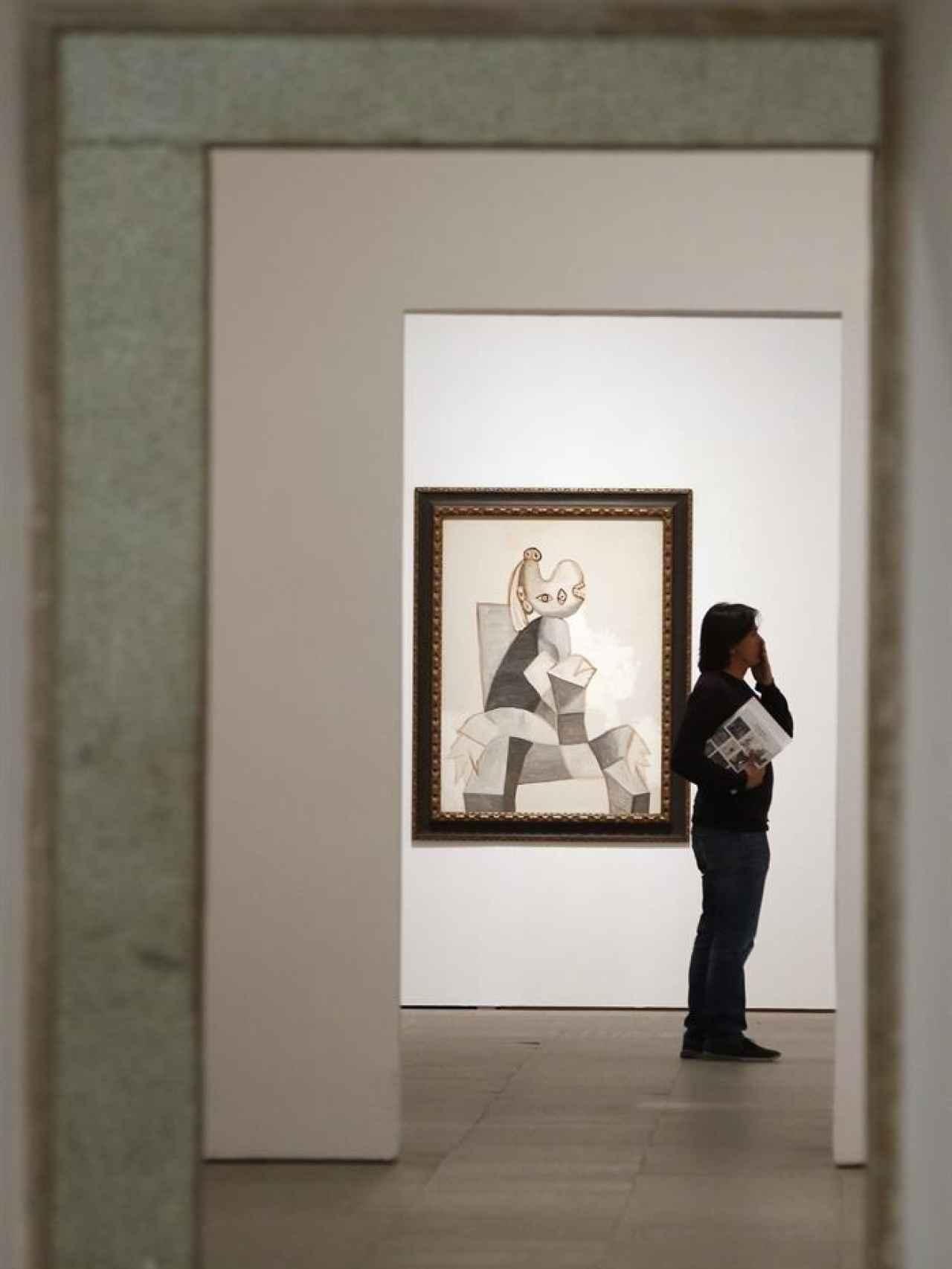 Uno de los rincones de la exposición España renacida.