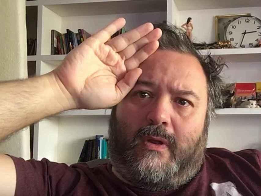El actor porno Ignacio Allende, alias Torbe.