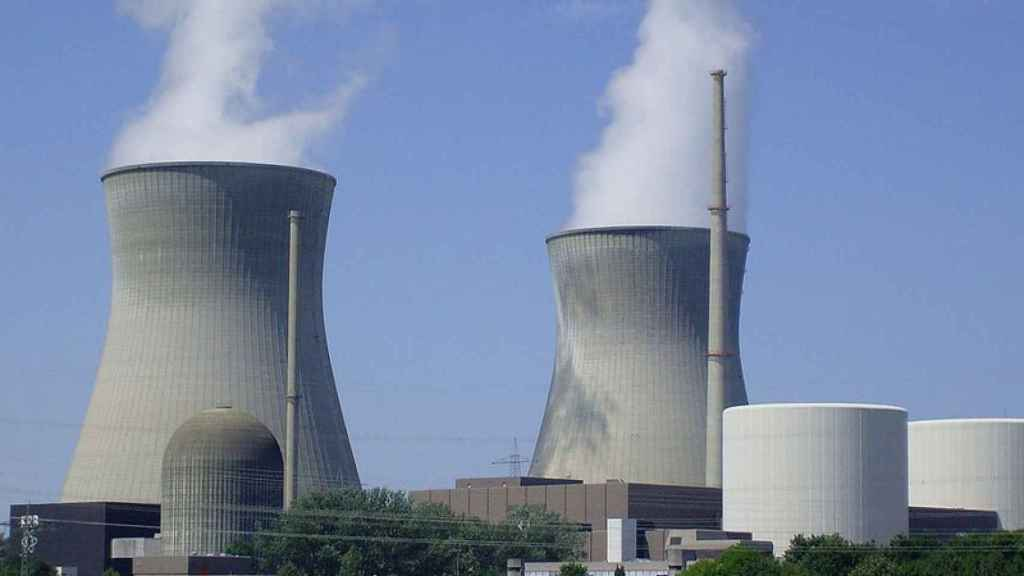 Imagen de archivo de una central nuclear.