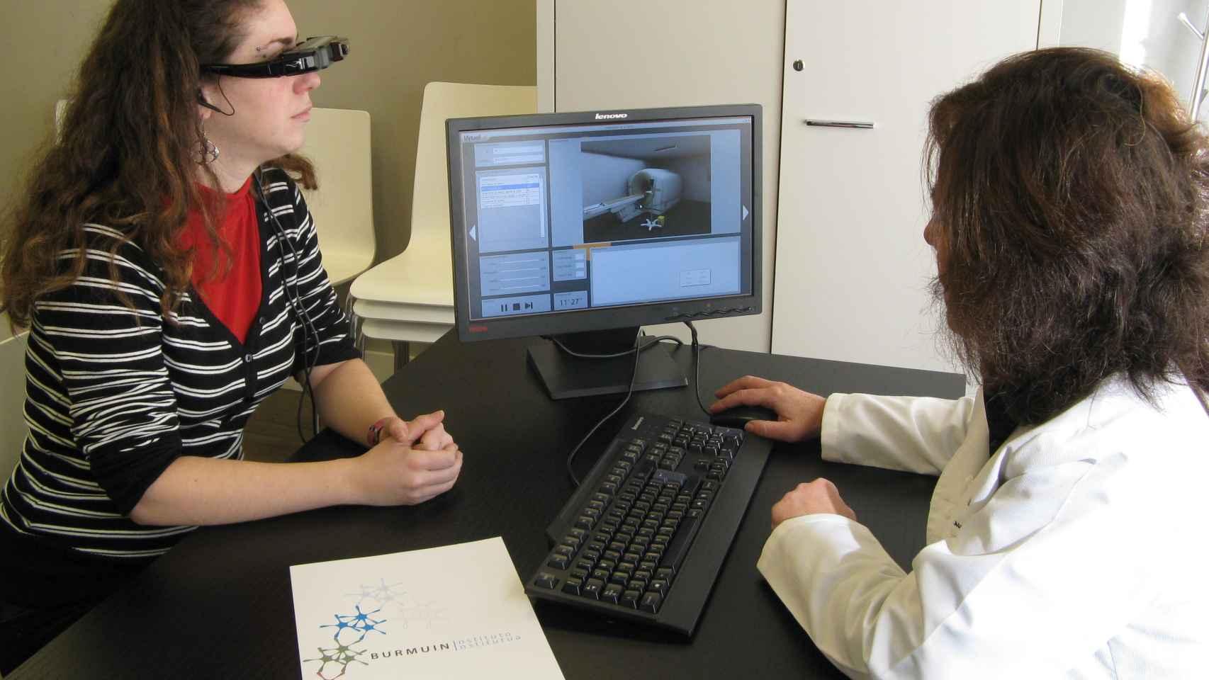 La tecnología de realidad virtual ya se ha colado en algunos tratamientos.
