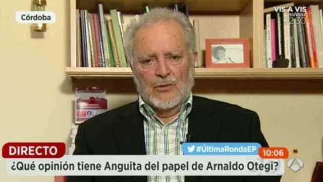 """Anguita: Pablo Iglesias y Alberto Garzón """"están obligados a la confluencia"""""""