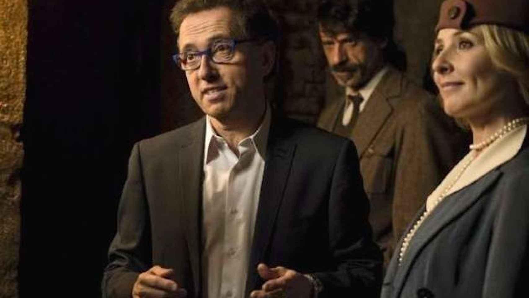 Jordi Hurtado hizo un cameo en la serie 'El Ministerio del tiempo'