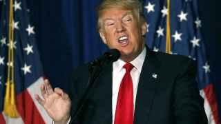 Donald Trump, durante su discurso este miércoles en Washington