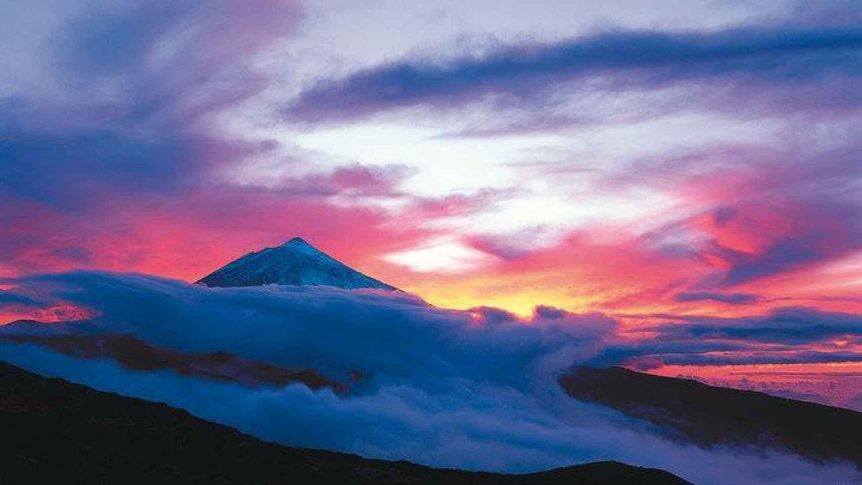 Imagen del Teide. /