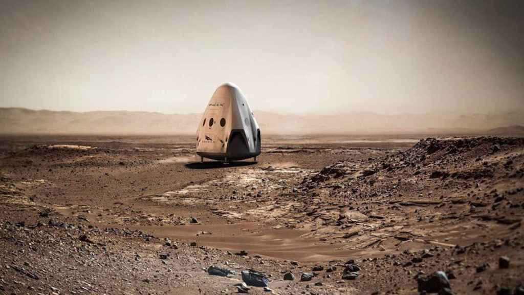 spacex marte 1
