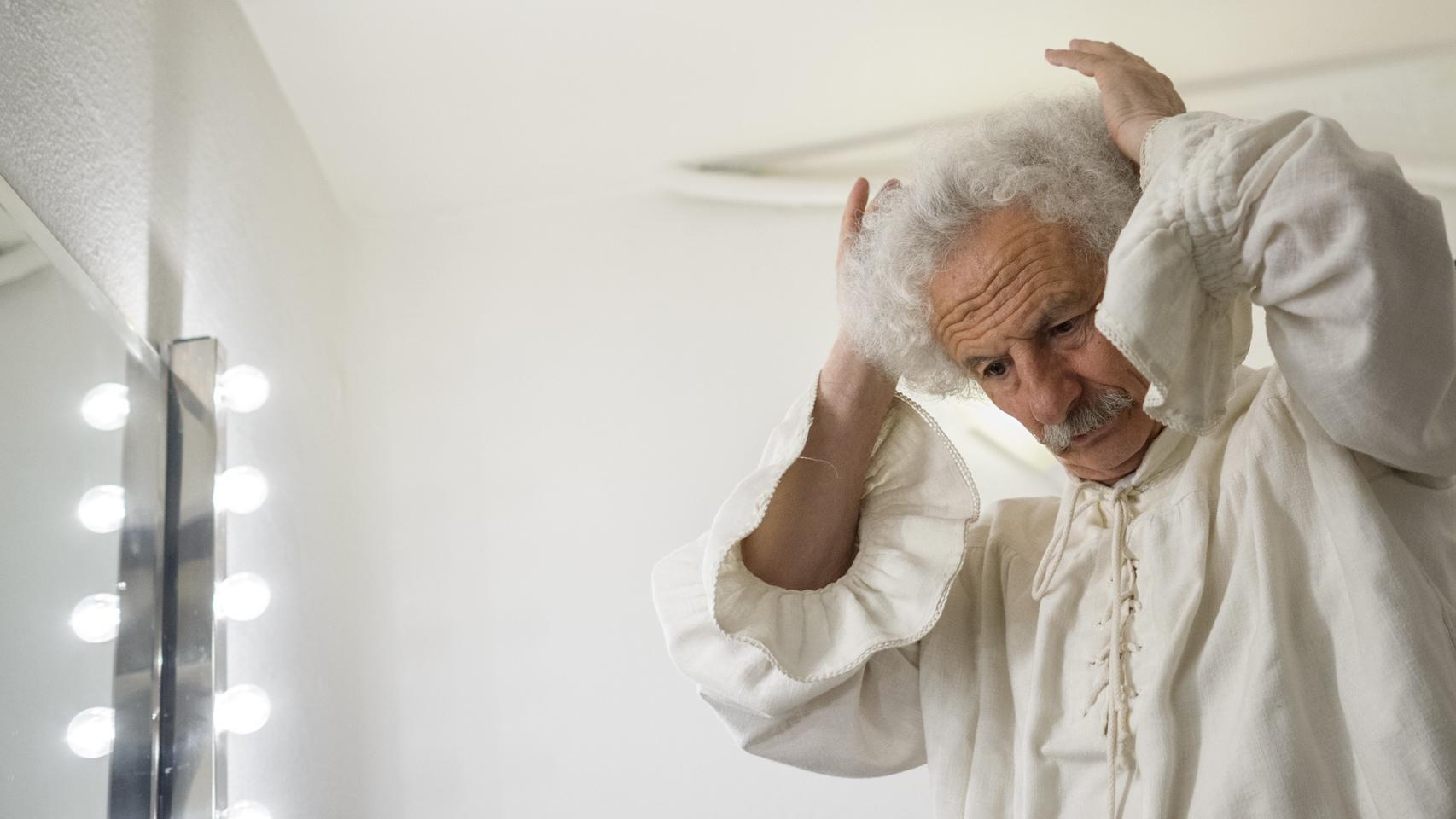 Rafael Álvarez, El Brujo, representando El Lazarillo de Tormes en el Teatro Cofidis.