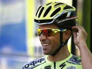 Alberto Contador en una imagen de archivo.