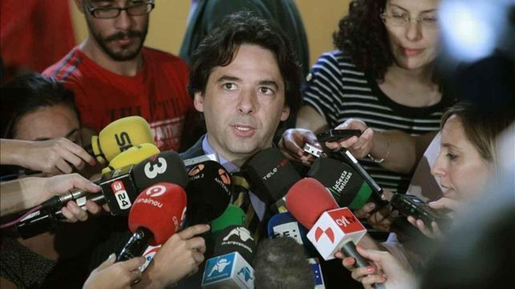 El concejal del PP Percival Manglano.