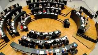 Pleno del Ayuntamiento de Madrid de este miércoles.