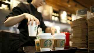 Cafetería de la cadena Starbucks.