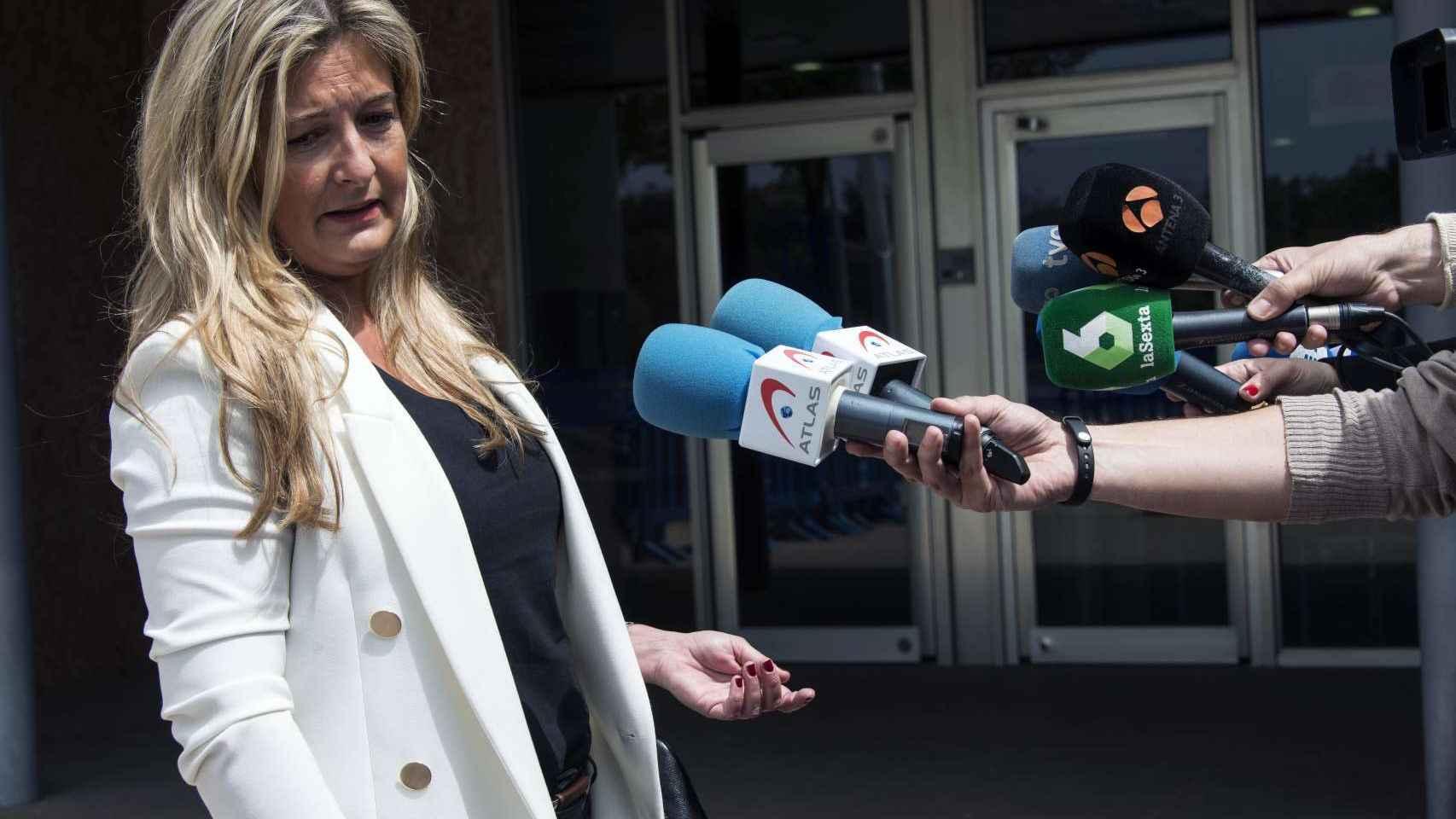 La abogada de Manos Limpias, Virginia López Negrete.