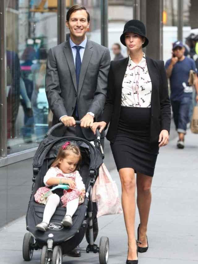 Jared e Ivana de paseo con su familia por las calles de Manhattan