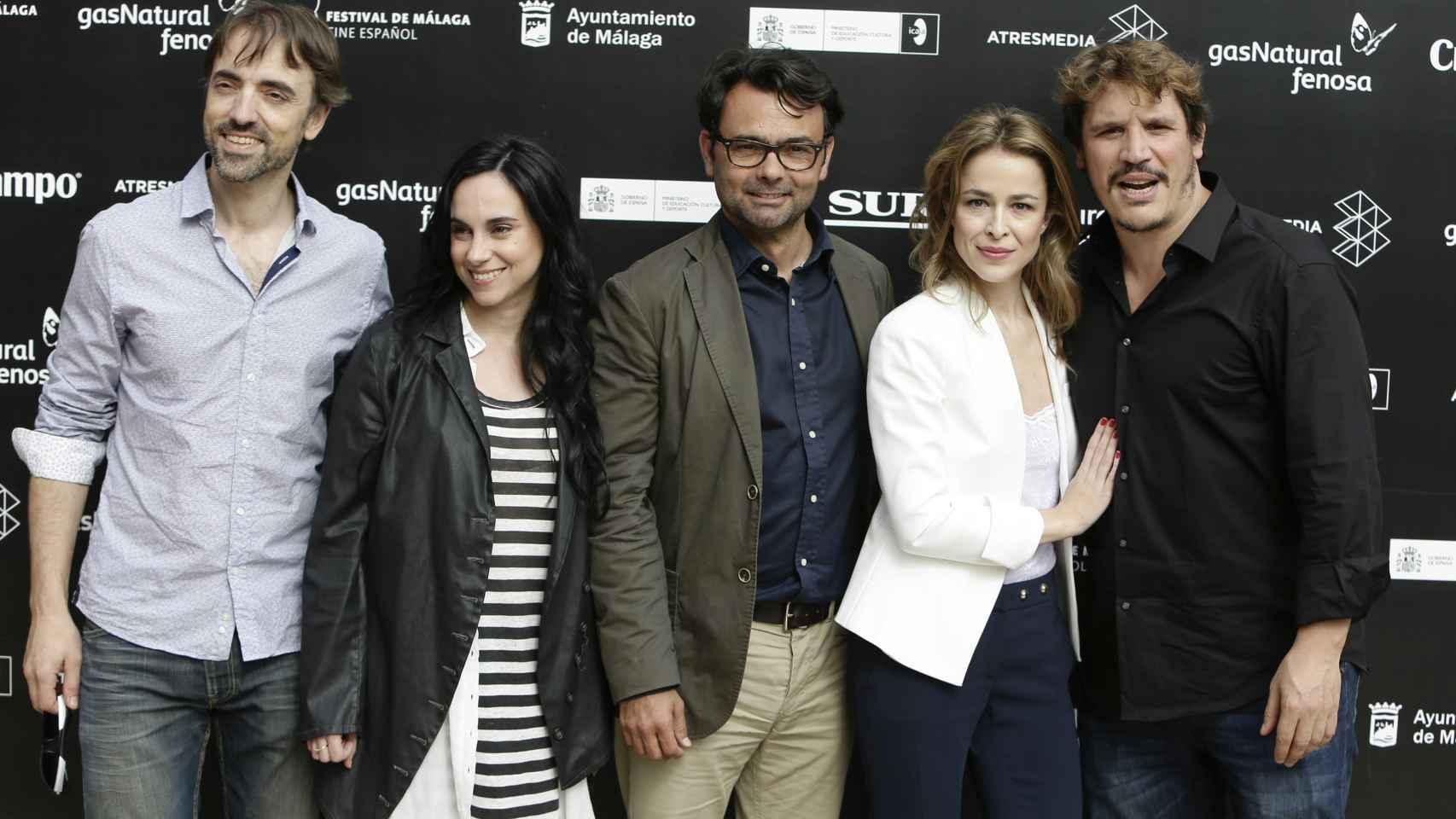 La pareja comparte protagonismo en la película 'Los comensales'