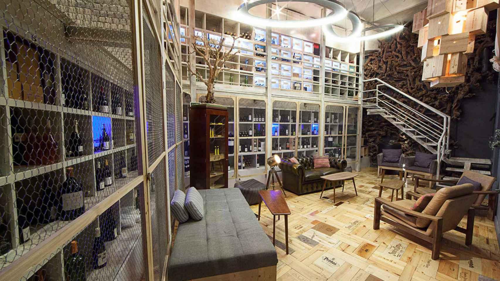 Interior del restaurante La Cabra.