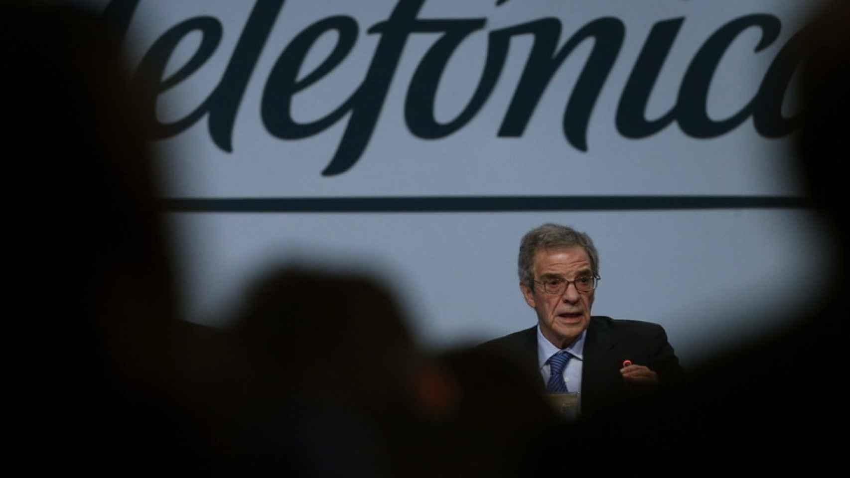 César Alierta, como presidente de Telefónica, sufrió la presión de Ausbanc.