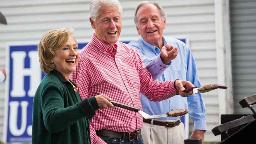 ¿Presentará Bill, el marido de la Presidenta Clinton, su mejor receta de cookies para concursar?