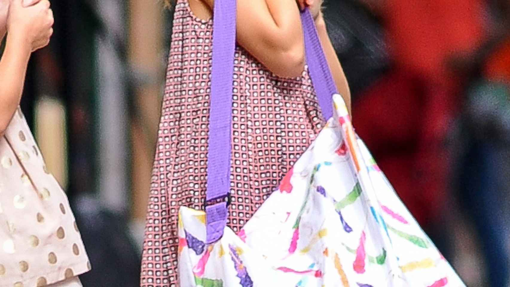Suri Cruise, la hija de Tom Cruise y Kate Holmes