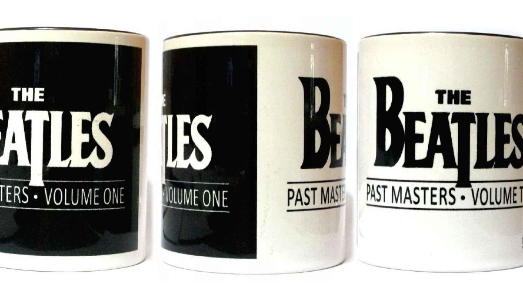 Taza de desayuno de The Beatles.