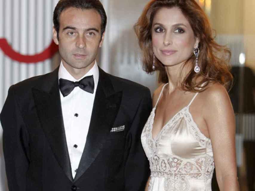 Ponce y Paloma Cuevas cumplen este año 20 años de casados