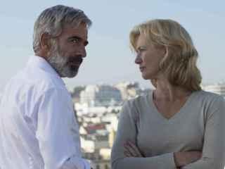 Antonio Alcántara (Imanol Arias) y Merche ( Ana Duato)