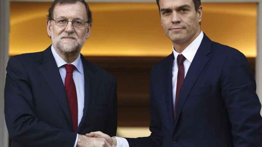 Mariano Rajoy y Pedro Sánchez/EFE