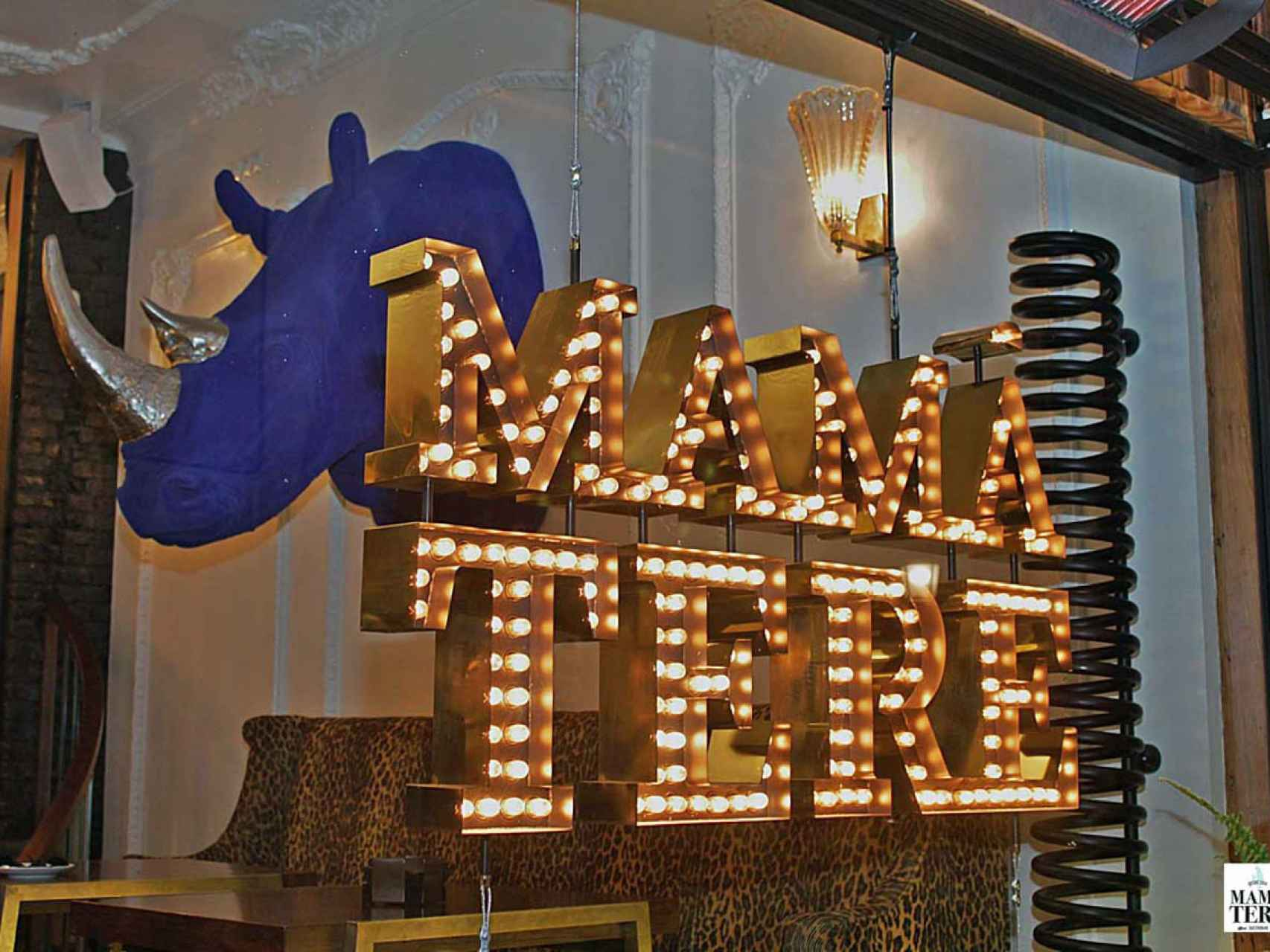 Entrada del restaurante Mamá Tere.