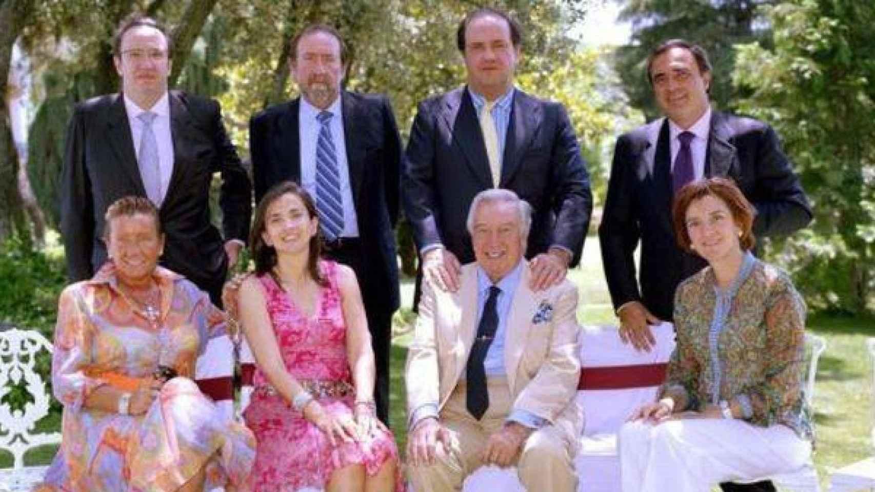 Foto de la familia de David Álvarez en imagen de archivo