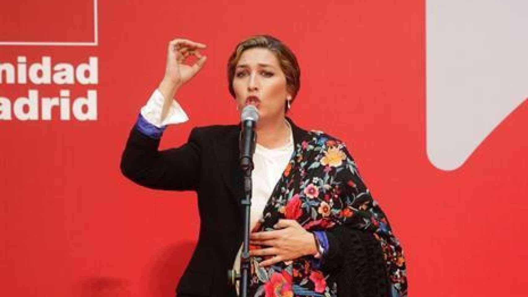 Estrella Morente: Estamos hartos de que en España no haya diálogo