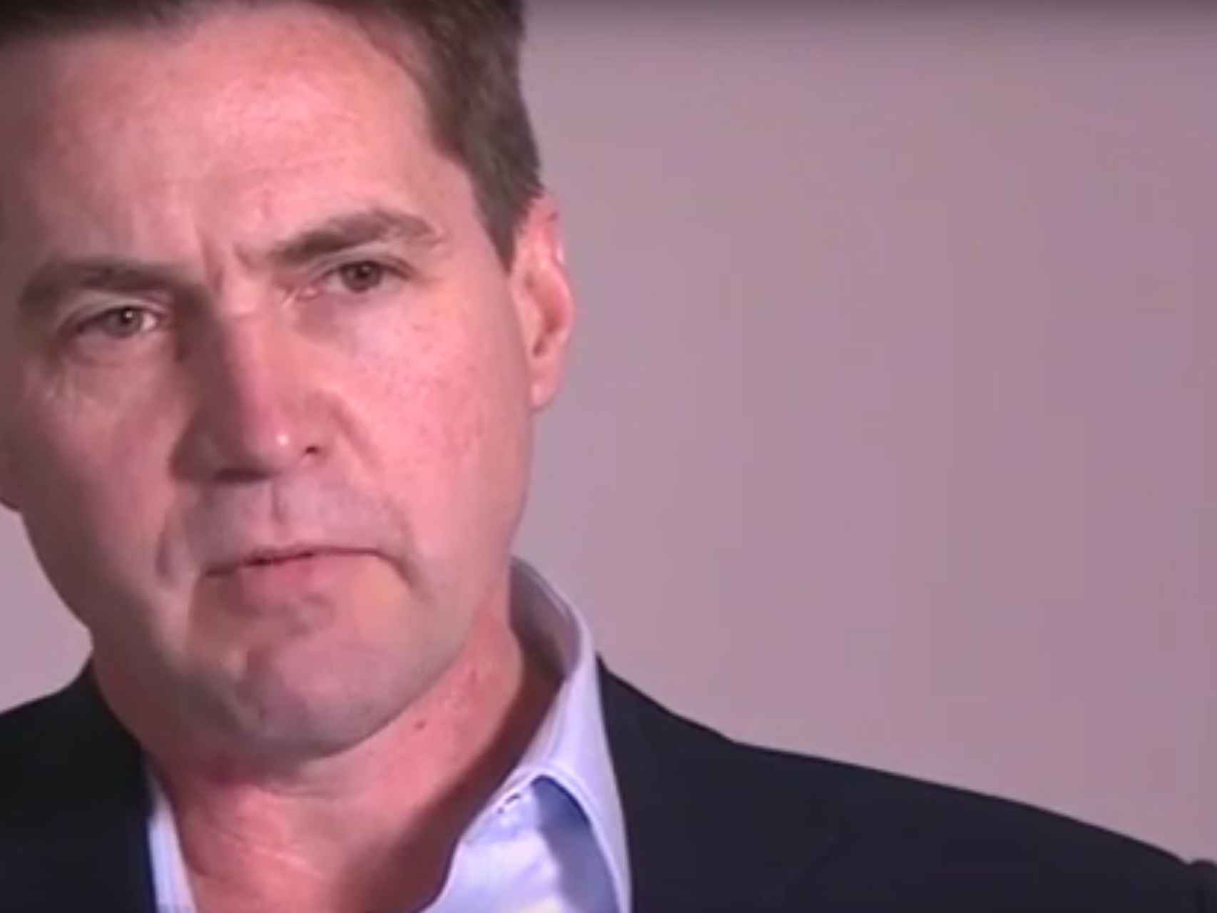 El creador del bitcoin, Craig Wright, durante su entrevista en la BBC
