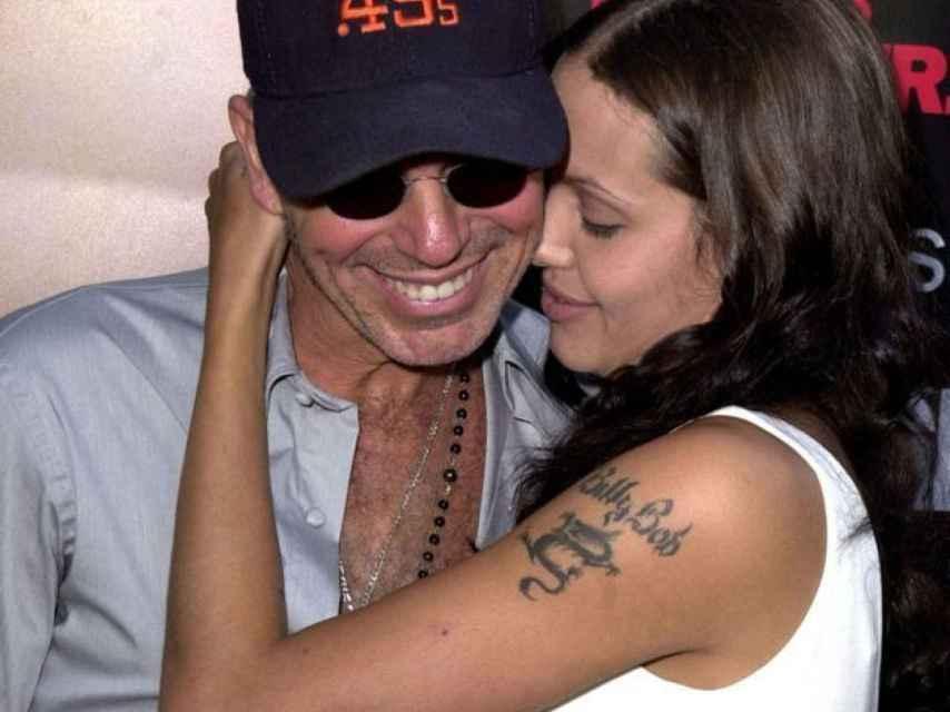 Angelina Jolie con su exmarido Billy Bob