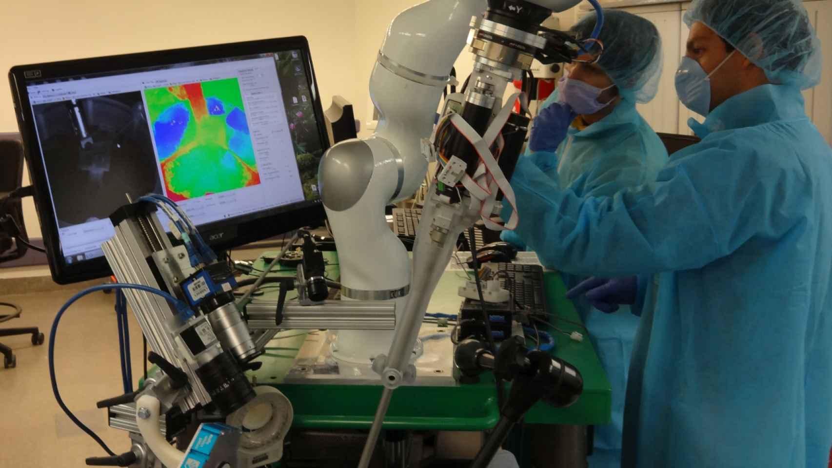 El robot cirujano STAR