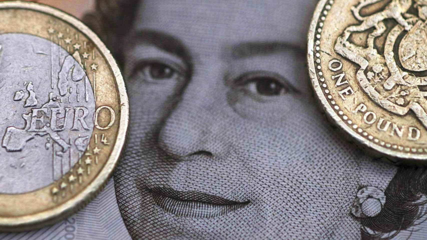 El euro frente a la libra. Europa frente a Reino Unido.