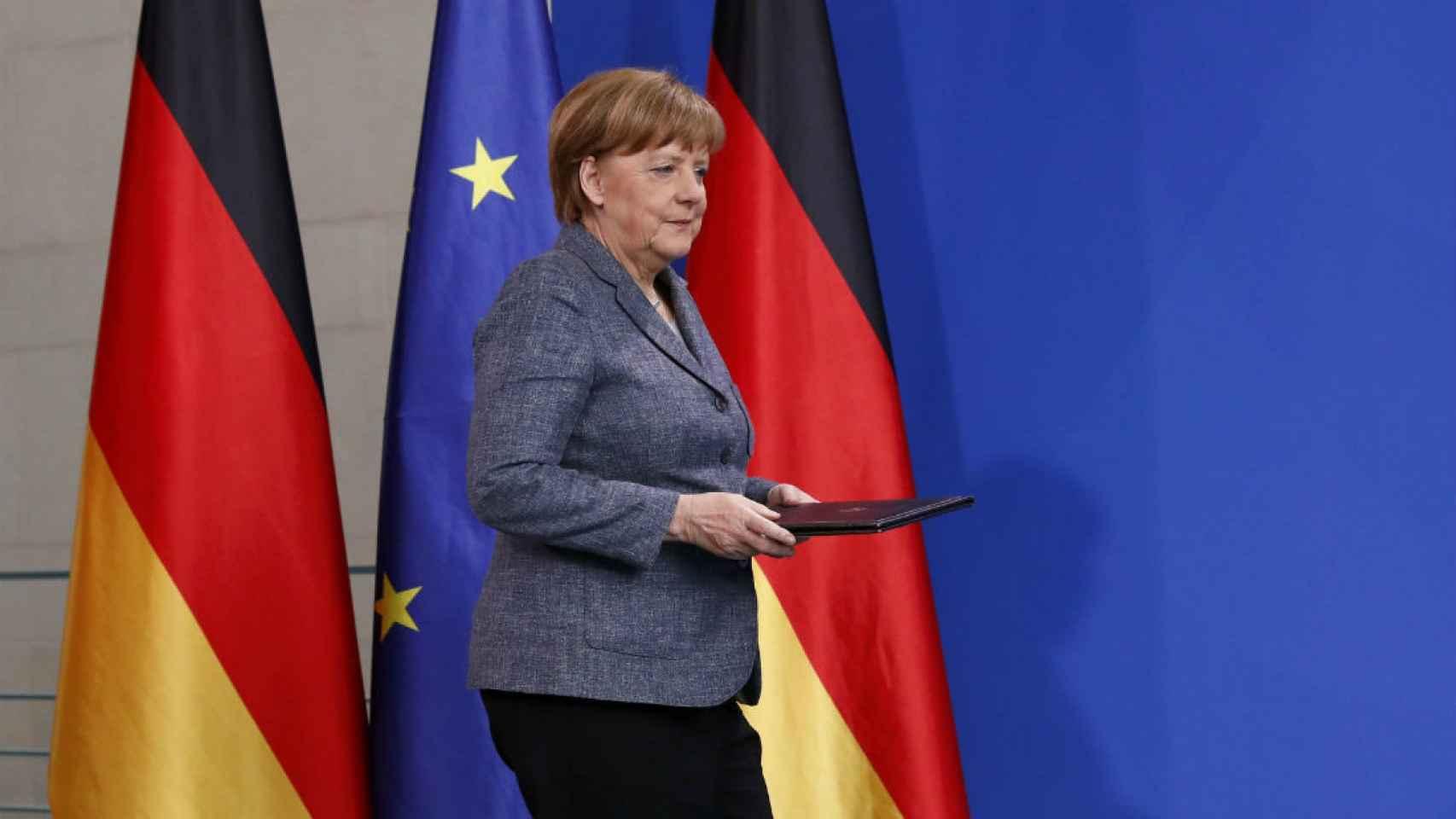 Angela Merkel, canciller de Alemania, el país con mayor peso en la UE.