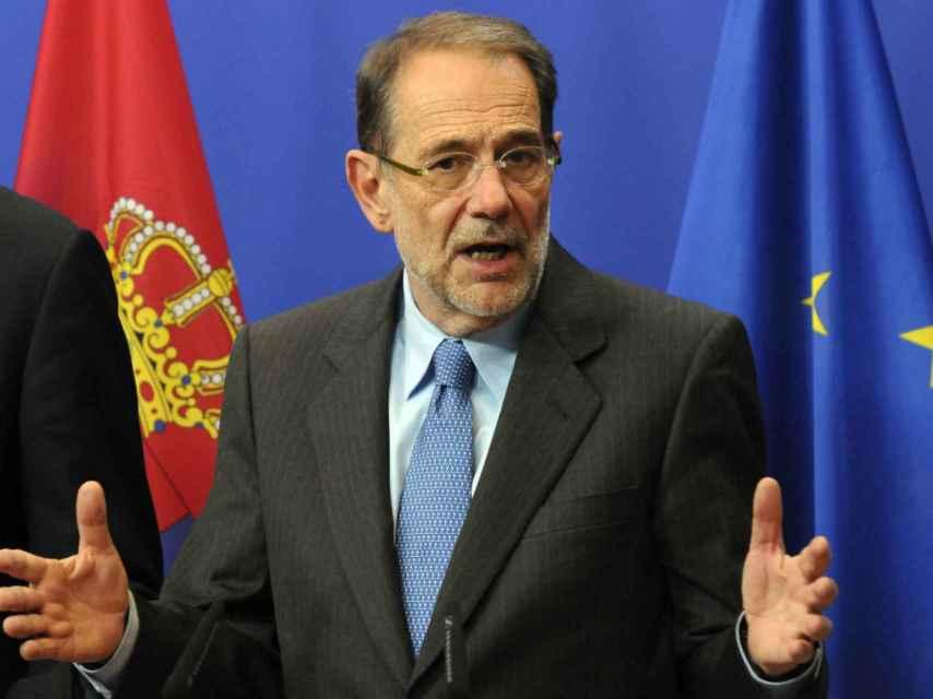 Javier Solana, excomisario de Política Exterior y de Seguridad Común.