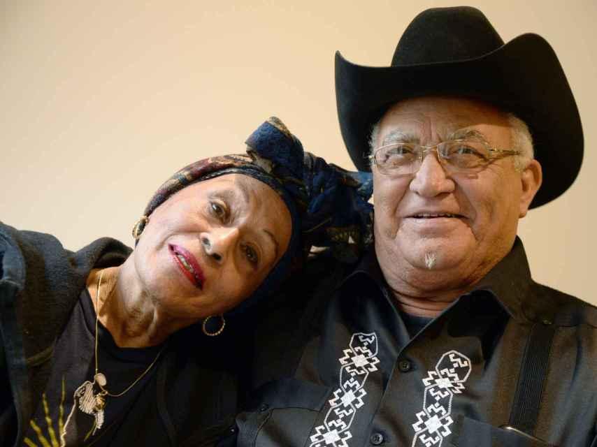 Omara Portuondo y Eliades Ochoa.