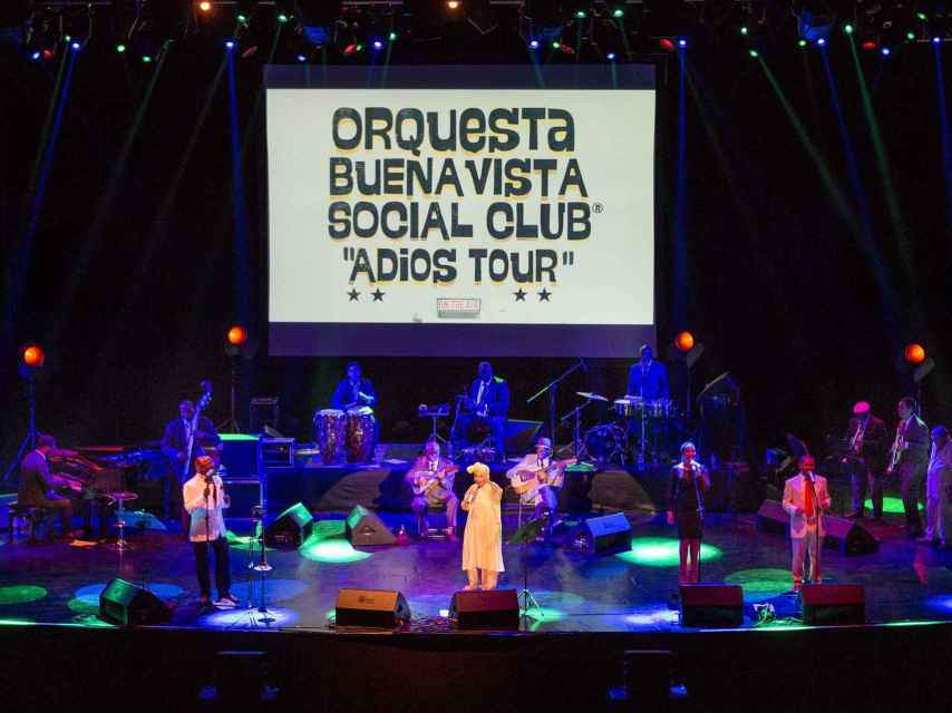 Orquesta Buena Vista Social Club.