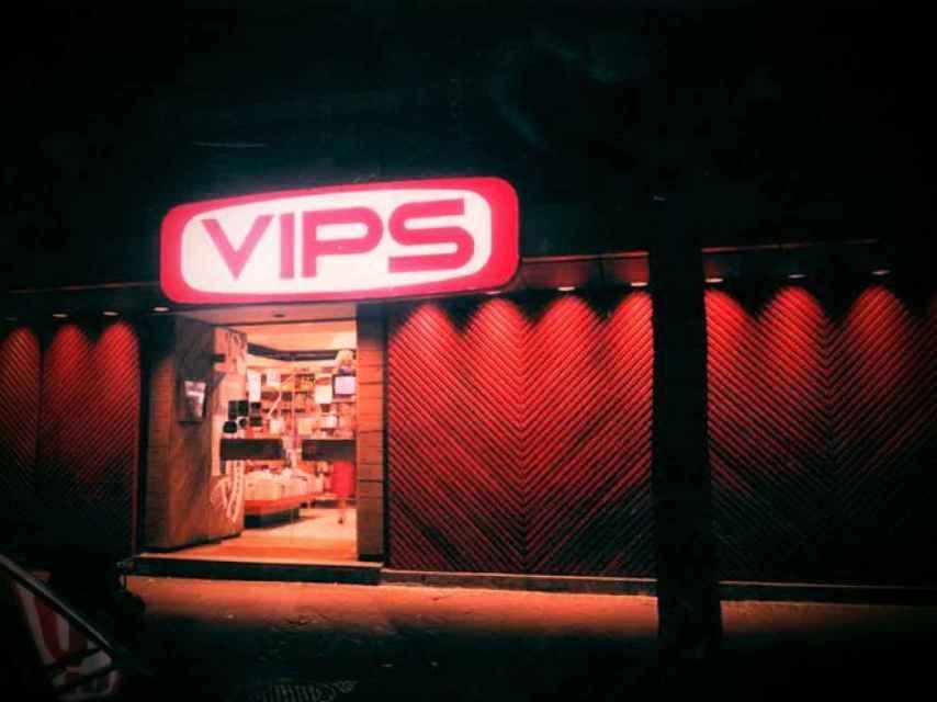 El primer VIPS abrió en Madrid en 1969 en la calle Julián Romea.