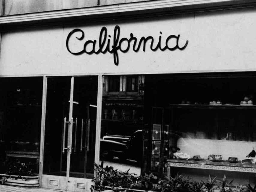 La primera Cafetería California en Madrid.