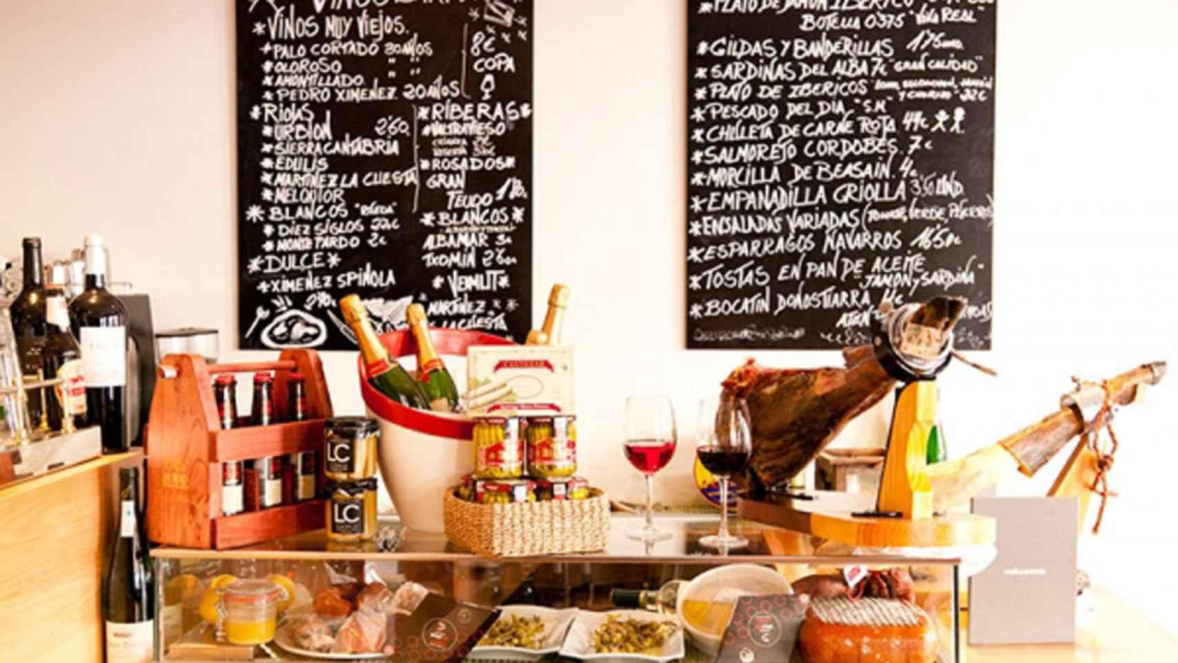 El restaurante Muñagorri.