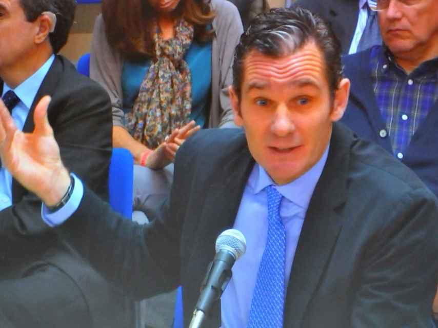 Iñaki Urdangarín durante el juicio del Caso Nóos
