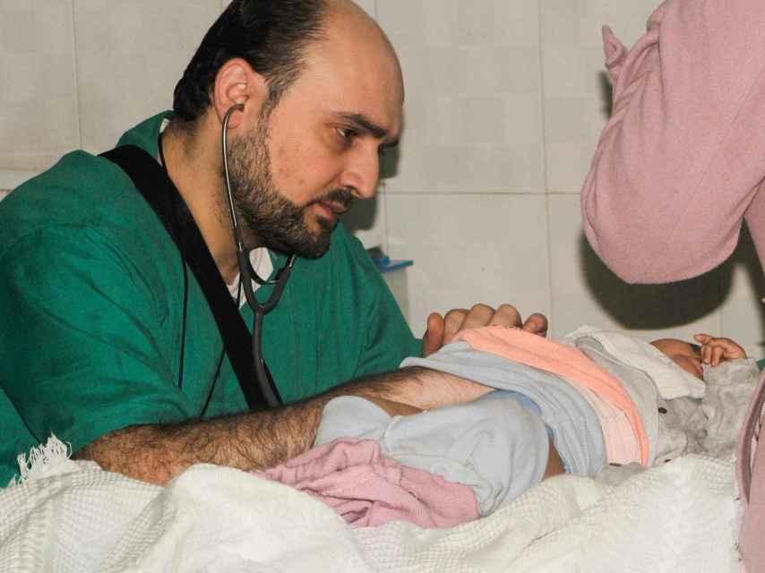 El doctor Maaz, el último pediatra que quedaba en Alepo, fue asesinado el pasado fin de semana.